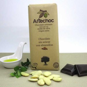 Chocolate sin Azúcar con Almendras