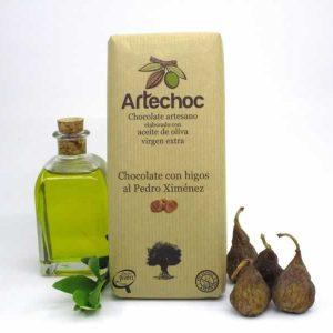 Chocolate con Higos al Pedro Ximénez