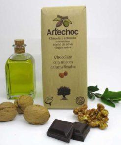 Chocolate con Nueces Caramelizadas