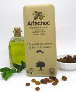 Chocolate con Pasas al Pedro Ximénez