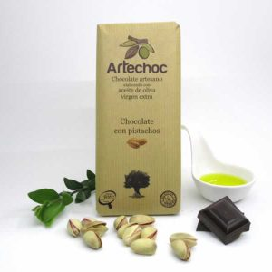 Chocolate con Pistachos
