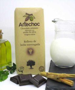 Chocolate Relleno de Leche Merengada
