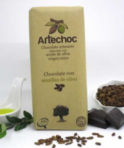 Chocolate con Semillas de Olivo