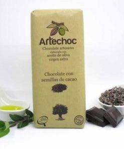 Chocolate con Semillas de Cacao